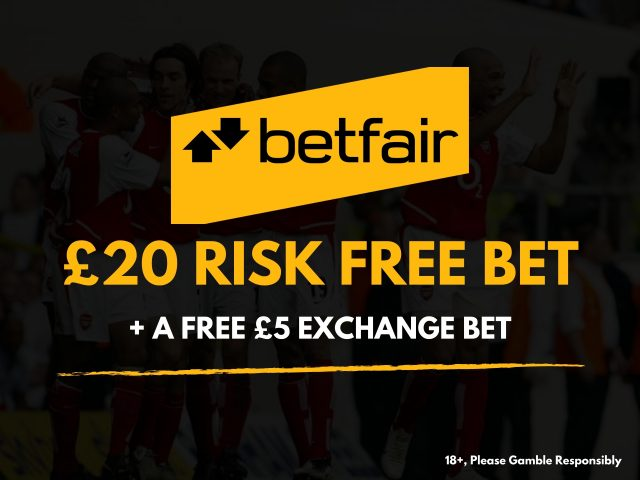 Betfair £20 Risk Free