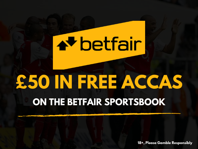 Bet £10, Get £50 in free accas